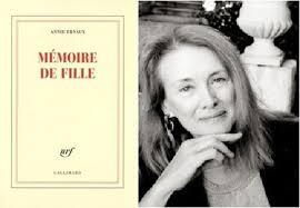 Mémoire de fille, d'Annie Ernaux