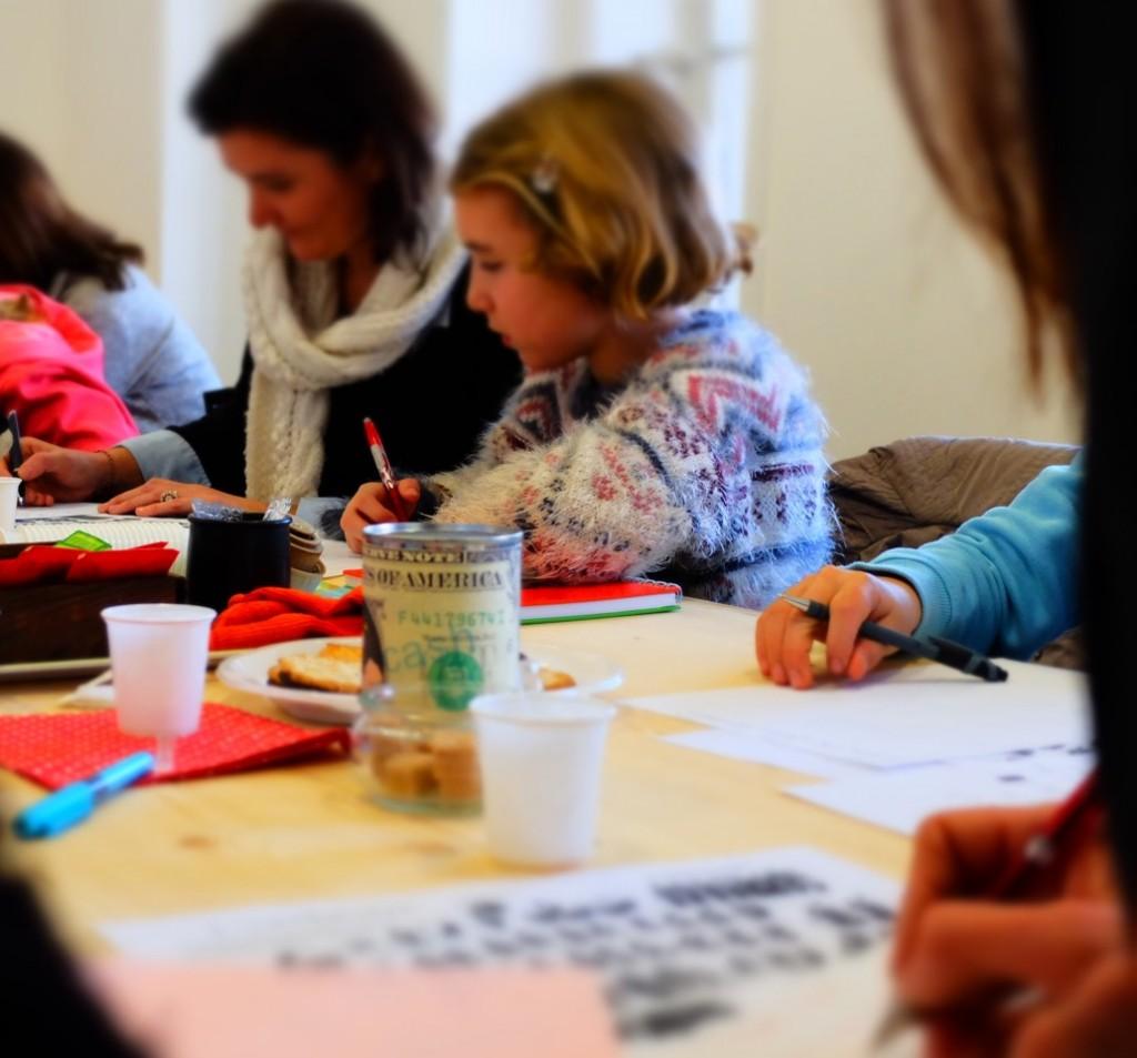 Atelier d'écriture parents enfants