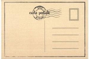 """Atelier d'écriture autour de """"cartes postales sonores"""""""