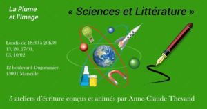 "Centre Dugommier | Cycle de 5 ateliers d'écriture ""Sciences et Littérature"" @ Centre d'animation Dugommier"